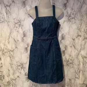 GAP Overall Denim Dress Jeans Blue